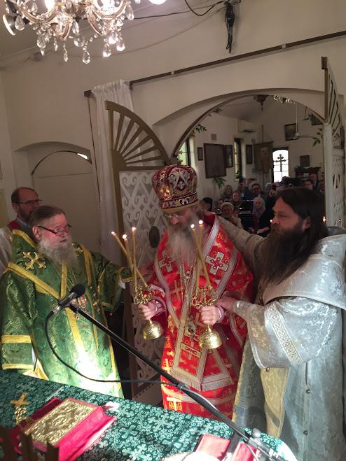 "Епископ Трентонский Стефан своим указом обозначил титул нового ""епископа"""